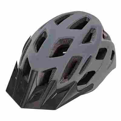 Fahrradhelm grau 55-58 cm