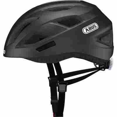 City-Fahrradhelm 'Consumerline' matt schwarz, Größe M