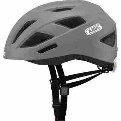 City-Fahrradhelm 'Consumerline' matt grau, Größe L