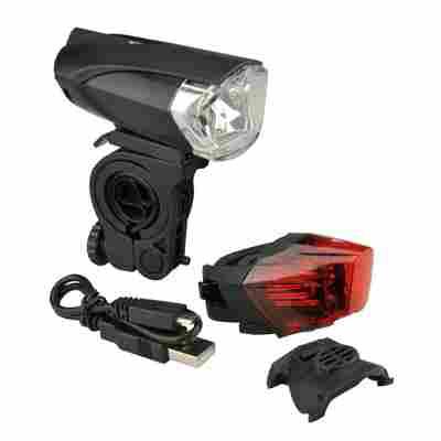 Fahrrad-LED-Beleuchtungs-Set 35 Lux