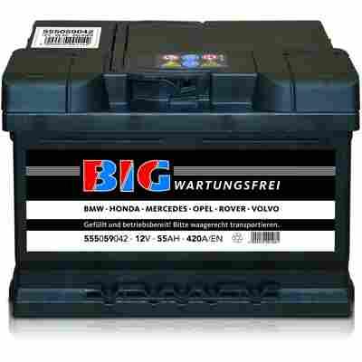 Autobatterie 12V 55Ah 420 A/EN