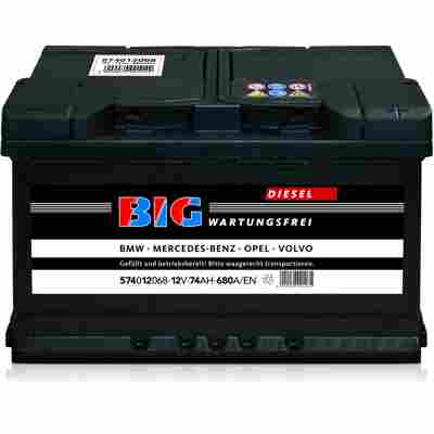 Autobatterie 12V 74Ah 680 A/EN