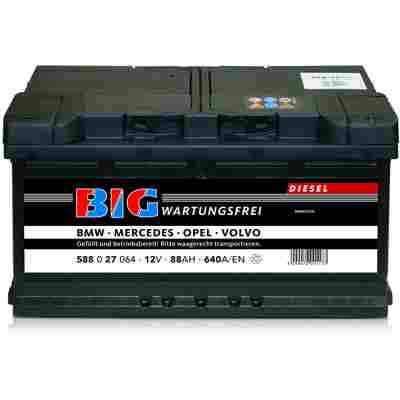 Autobatterie 12V 88Ah 640 A/EN