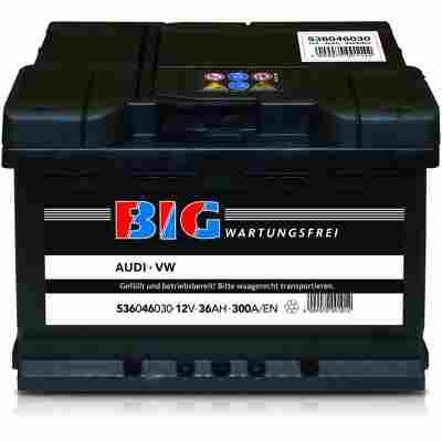 Autobatterie 12V 36Ah 300 A/EN