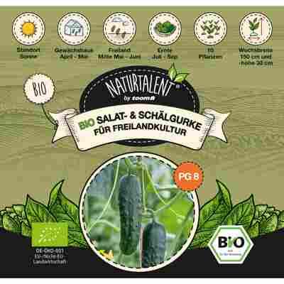 Naturtalent by toom® Bio-Salat- und Schälgurke