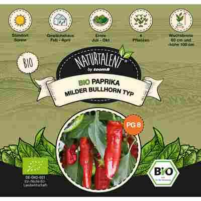 Naturtalent by toom® Bio-Paprika Bullhorn-Typ