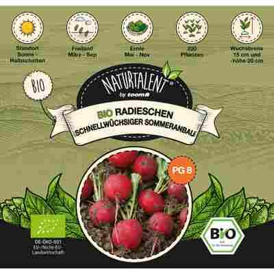 Naturtalent by toom® Bio-Radieschen rot