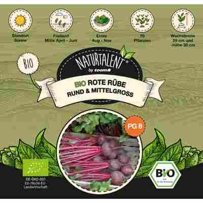 Naturtalent by toom® Bio-Rote Rübe rund