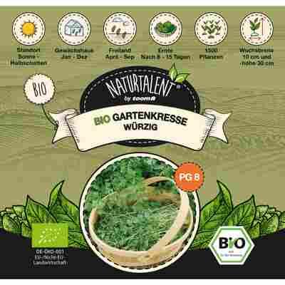 Naturtalent by toom® Bio-Gartenkresse würzig