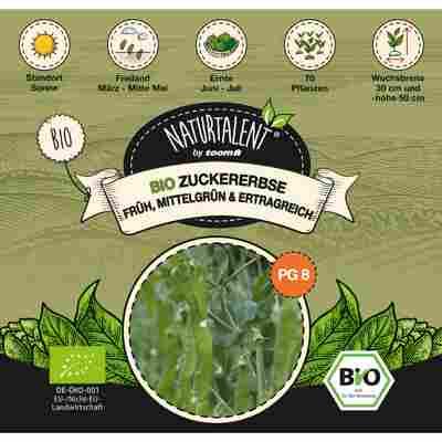 Naturtalent by toom® Bio-Zuckererbse