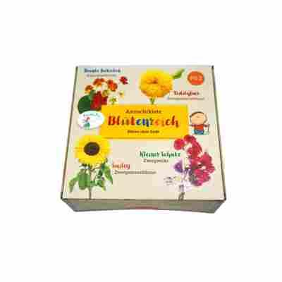 Anzucht-Set 'Blütenreich' für Kinder