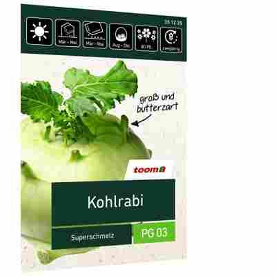 Kohlrabi 'Superschmelz'