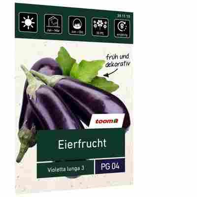 Eierfrucht 'Violetta lunga 3'