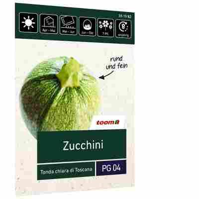 Zucchini 'Tonda chiara di Toscana'