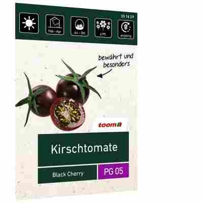 Kirschtomate 'Black Cherry'