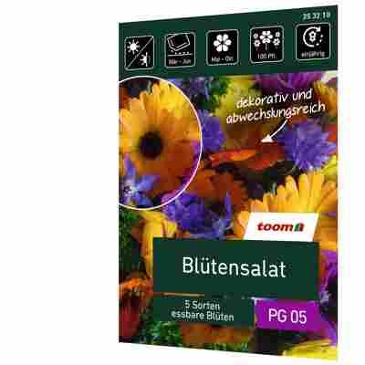 Blütensalat '5 Sorten essbare Blüten'