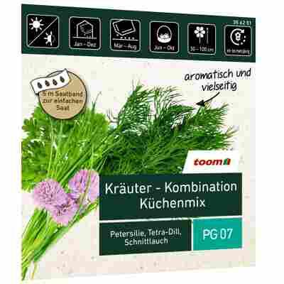 Kräuter 'Küchenmix' Saatband 5 m