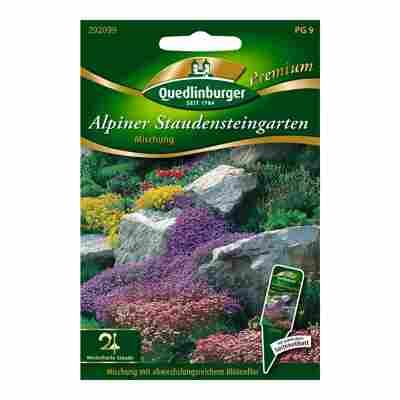 """Blumenmischung """"Alpiner Staudensteingarten"""""""