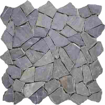 Mosaik 'Bruch' schwarz 30 x 30 cm