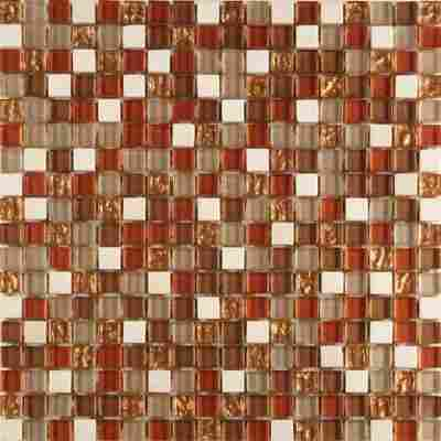Mosaikfliese Loox Butzi Mix kupfer 30x30cm
