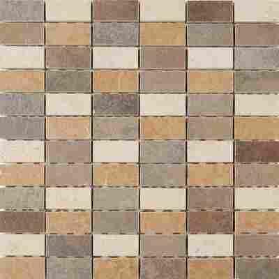 Mosaikfliese Kesme beige 29,5x29,5cm