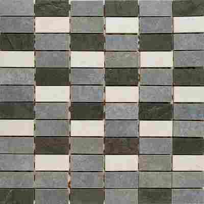 Mosaikfliese Kesme grey 29,5x29,5cm