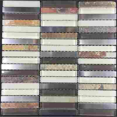 Mosaikfliese Rolling Hills 30,5x30,5cm