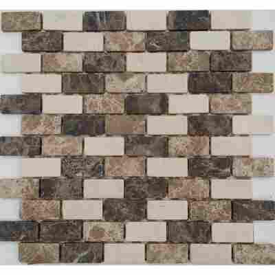 Mosaikfliese Java beige 30x30cm