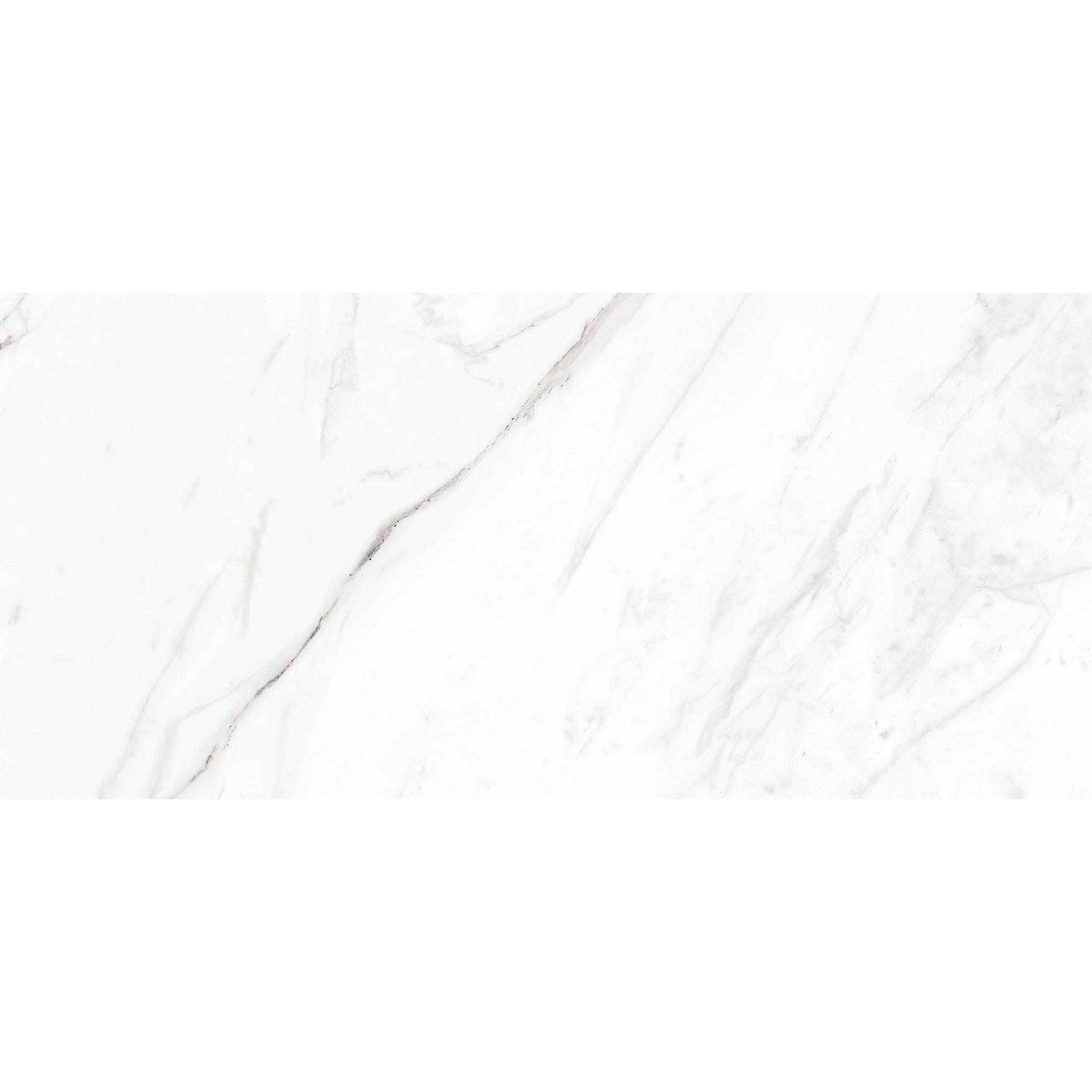 Bodenfliese Calacata Weiß Grau 29,8x60cm