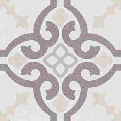 Bodenfliese 'Retro' mehrfarbig 22,5 x 22,5 cm