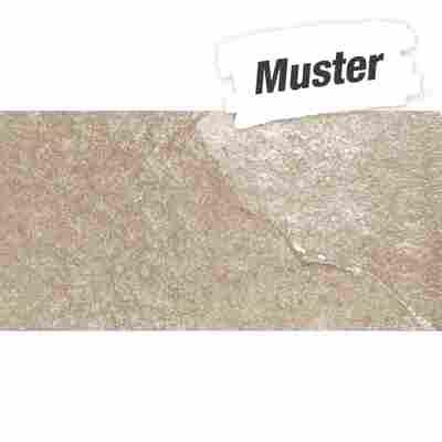 Muster zu Bodenfliese 'Materia' beige 30 x 60cm
