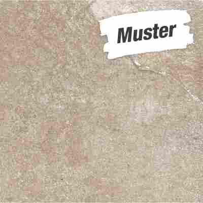 Muster zu Bodenfliese 'Materia' beige 60 x 60cm