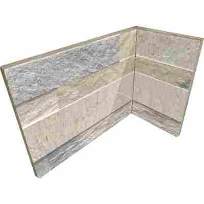 Innenecke 'Cubics' beige 10 x 20 cm