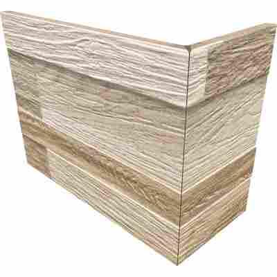 Außenecke 'Wallart sand' 10 x 20 cm