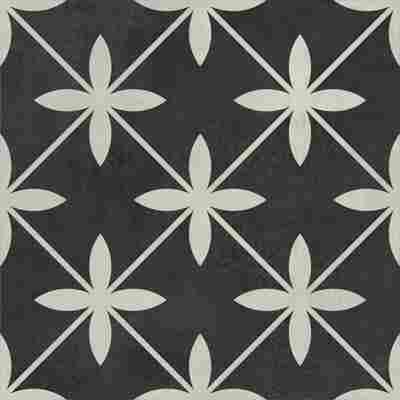 Bodenfliese 'Laurent Retro' bunt 18,6 x 18,6 cm