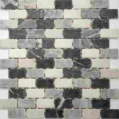 Mosaikfliese Nero mix 30,5x30,5cm
