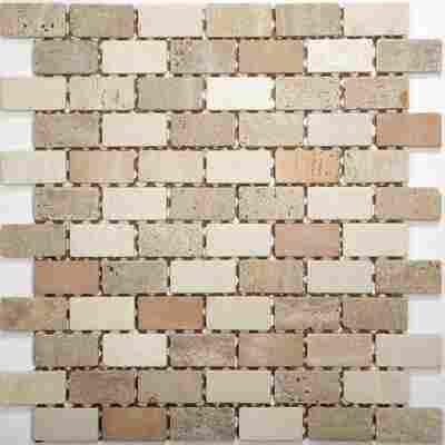 Mosaikfliese Toscana mix beige 30,5x30,5cm