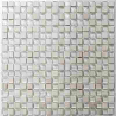Mosaikfliese Chill white 30x30cm