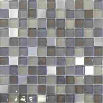 Mosaikfliese Fino braun 30x30cm