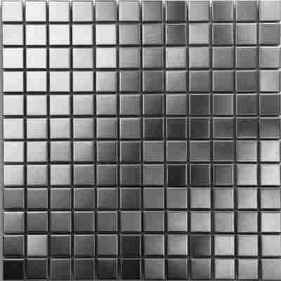 Mosaikfliese Iron gebürstet 30x30cm