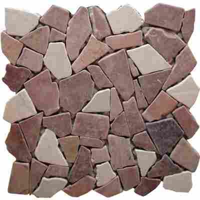 Mosaikfliese Bruch Rosso 30,5x30,5cm