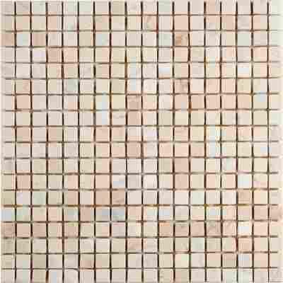 Mosaikfliese Mix Travertin carrara 30,5x30,5cm