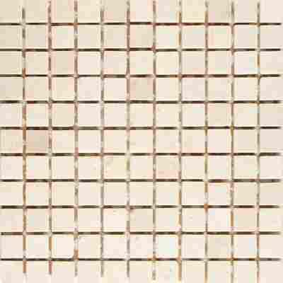 Mosaikfliese Travertin beige 30,5x30,5cm