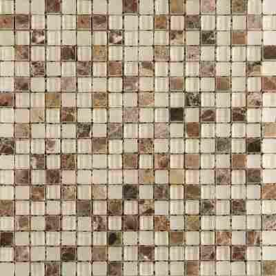 Mosaikfliese Quebec mix braun 30x30cm