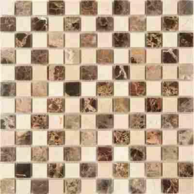 Mosaikfliese Zypern Florence braun 30,5x30,5cm
