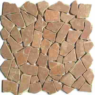 Mosaikfliese Bruch RossoVerona 30,5x30,5cm