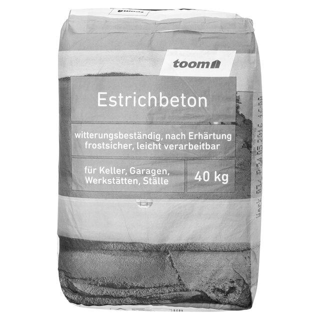 Toom Estrichbeton 40 Kg ǀ Toom Baumarkt