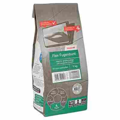 Flex-Fugenbunt basaltgrau 1 kg toom
