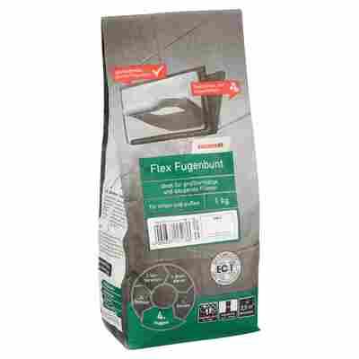 Flex-Fugenbunt weiss 1 kg toom