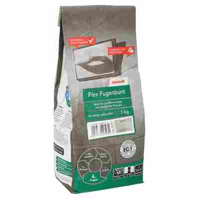 Flex-Fugenbunt grau 1 kg toom